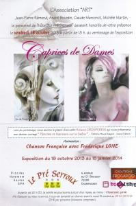 Frédérique Lone prestation caprices de dames